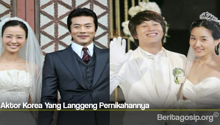 Aktor Korea Yang Langgeng Pernikahannya