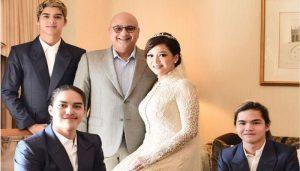 foto pernikahan maia dan irwan