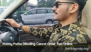 Robby Purba Dituding Cancel Order Taxi Online